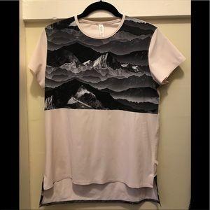 Lululemon rare mountain nylon short sleeve